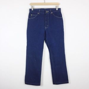 Vintage Lee Riders high rise jeans dark wash union